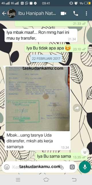 Testimoni Customer Kabupaten Natuna